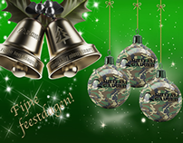 Military Gadgets Christmas Card