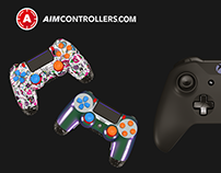 PS4 and Xbox Controller Commercial and Visualization