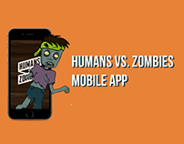 Humans vs. Zombies Mobile Application