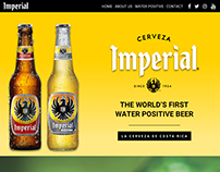 Imperial Website Mockup