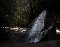 Yosemite boulders