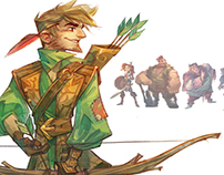 Robin Hood, Cast Design