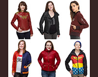 DC Comics: Women's Outerwear Collection for Ukonic
