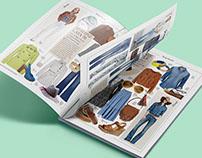 Custom magazine layout