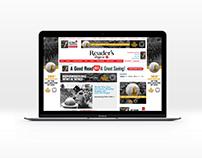 Various Online Sponsorship Mock-Ups