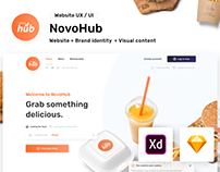 NovoHub - Get delivery from your favourite restaurants