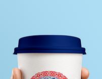 Corporative party emblem