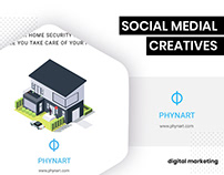 Social Media - Phynart by BrandzGarage