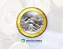 Moneda de Paz | Pro Colombia
