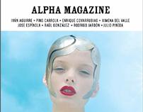 """Alpha Magazine"" (Sony México)"