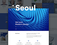 Seoul - WordPress Theme