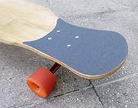 Dancing maple longboard