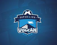 Super Liga Volcan Logo Proposal.
