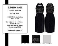 Tech Pack : Elizabeth & James Dress