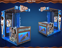 Cornetto Cookies N' Dream Disk Displays