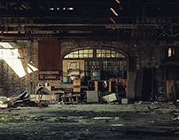 Ruins 07 / abandoned / factory