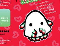 fluffie kisses: branding tags