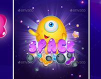 Space Game Match 3