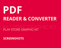 PDF Reader Play Store Graphics Kit
