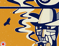 Chuck Prophet - Spanish tour gig poster