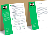Orienta - FREE Resume template + Cover Letter