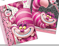 Licensing Product - Alice Disney / Cadernos Jandaia