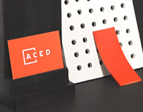 ACED France - Brand identity by Treize grammes