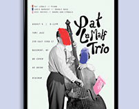 Pat LeMalf Trio Event Poster