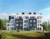 render for Civil Architects residential building