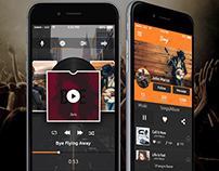Songi Full Music Network UI/UX Concept - Download