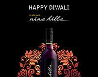 Seagram's Nine Hills Wine: Promotional Creatives