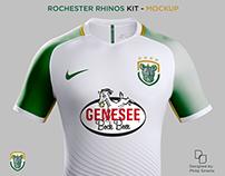Rochester Rhinos - Mockup