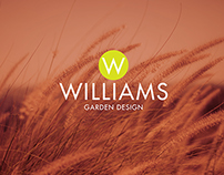 Williams Garden Design branding