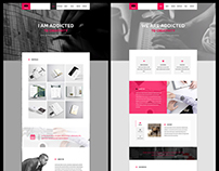 KK - Adobe Muse Template