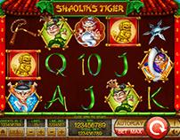 "Slot machine - ""Shaolin's tiger"""