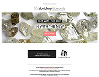david levy diamonds website launch newsletter