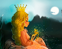 frog and princess
