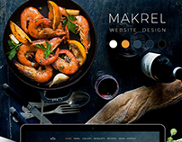 Makrel website design