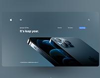 Iphone 12 Pro- Landing Page