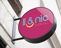 Li&Nic Dental | Identidade Visual