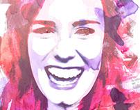 Joy | Portrait Illustration