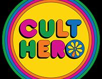 Retro Logo for Cult Hero