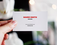 5 FREE business card mock ups