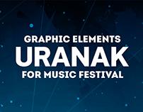 Uranak graphic elements