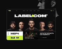Labelcom UI Design Concept