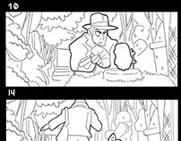 Indiana Jones - Storyboard Exercise