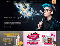 Lumo Website mockup B2B