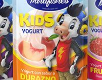 Miraflores Kids yogurt