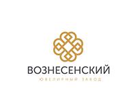Voznesensky jewelery logo design