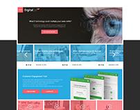 DigitalGo website redesign proposal